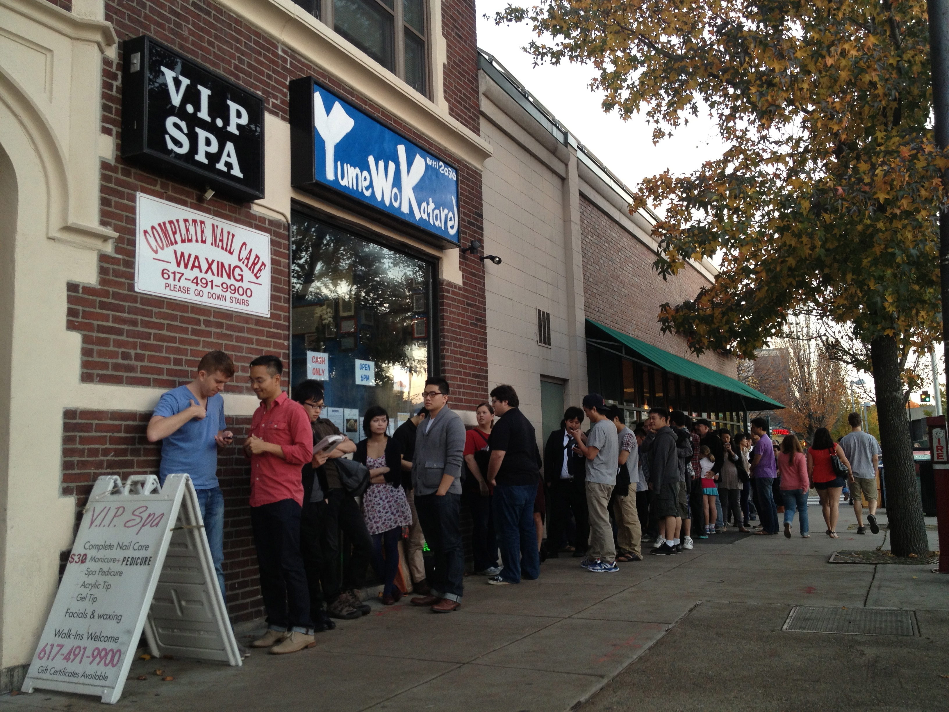 Why Diners Wait for Hours to Eat Ramen at Yume Wo Katare in Boston