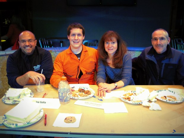 The judges and the delicious cookies they sampled