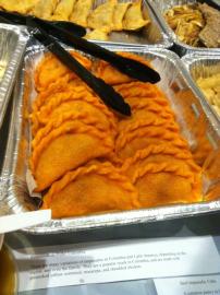 """""""Empanadas de pollo"""" – Empanadas stuffed with chicken"""