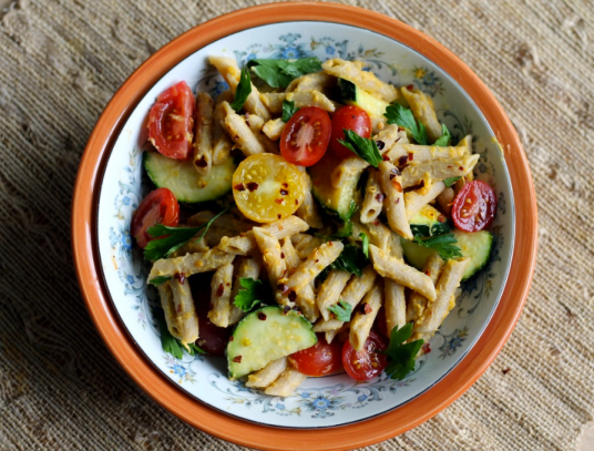 To Gents (Source: http://www.ambitiouskitchen.com/2012/05/healthy-spring-veggie-pasta-an-exciting-update/)