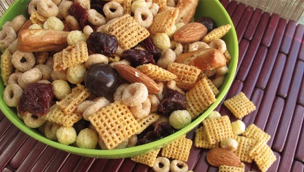 Dare to be different. With your trail mix only obv, try to remain a clone of the mediocre human in all other regards! Kidding, of course, let that trail mix be as individual as you are readers! (Source: http://www.pbs.org/parents/kitchenexplorers/2011/05/17/hit-the-trails-with-homemade-trail-mix/)