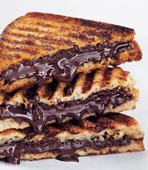 Nutella Panini (Source: http://chickswholovetoeat.blogspot.com/2011/08/nutella-nutella-nutella.html)