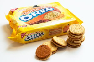 Pumpkin Spice Oreos - No pumpkin involved. Source: Buzzfeed